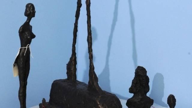 Gefälschte Skulpturen Giacomettis (Archiv)