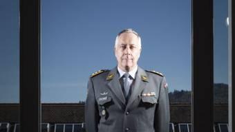 Korpskommandant André Blattmann. Foto: Pixsil/Daniel Rihs