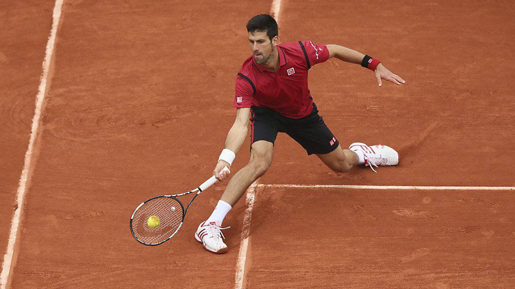 Novak Djokovic trotzte dem Regen und dem Gegner
