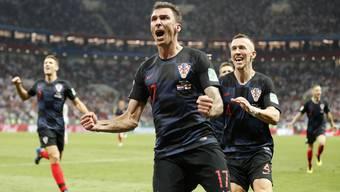 WM 2018: Kroatien - England