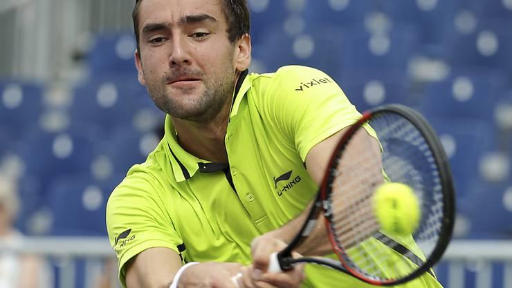 Der Kroate Marin Cilic (ATP 11) bleibt am ATP-Turnier in Genf im Rennen um den Turniersieg
