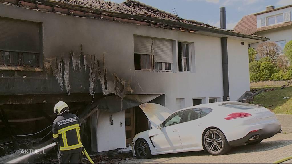 Brennt wegen eines Porsches in Wiedlisbach ein ganzes Haus?
