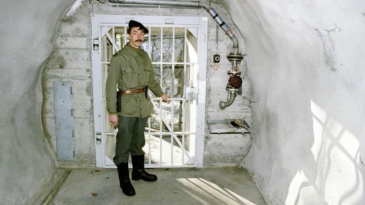 Im Bunker der Schweizer Geheimarmee P-26