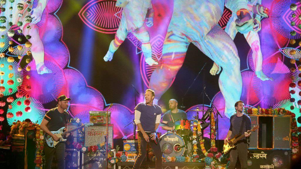 Coldplay kommen nächstes Jahr nach Zürich.