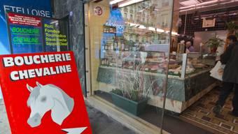 In Frankreich gibt es erneut einen Skandal um Pferdefleisch.