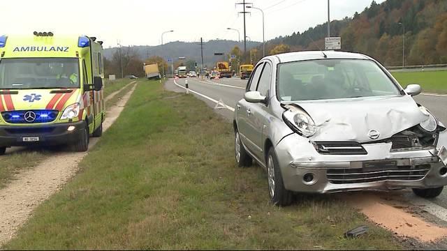 Unfall in Schöftland