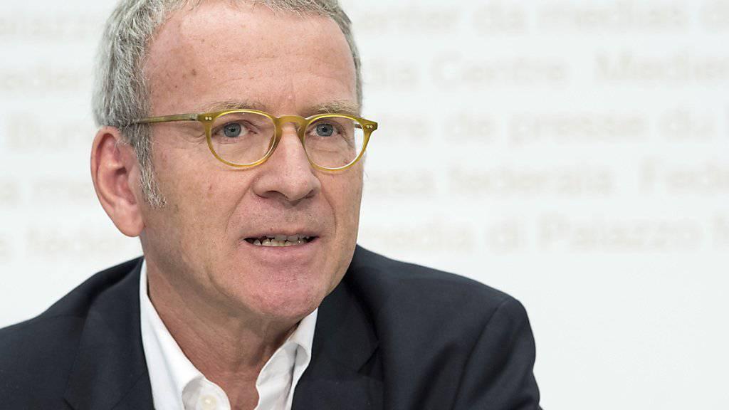 Adrian Lobsiger, Eidgenössischer Datenschutz-und Öffentlichkeitsbeauftragter. (Archivbild)