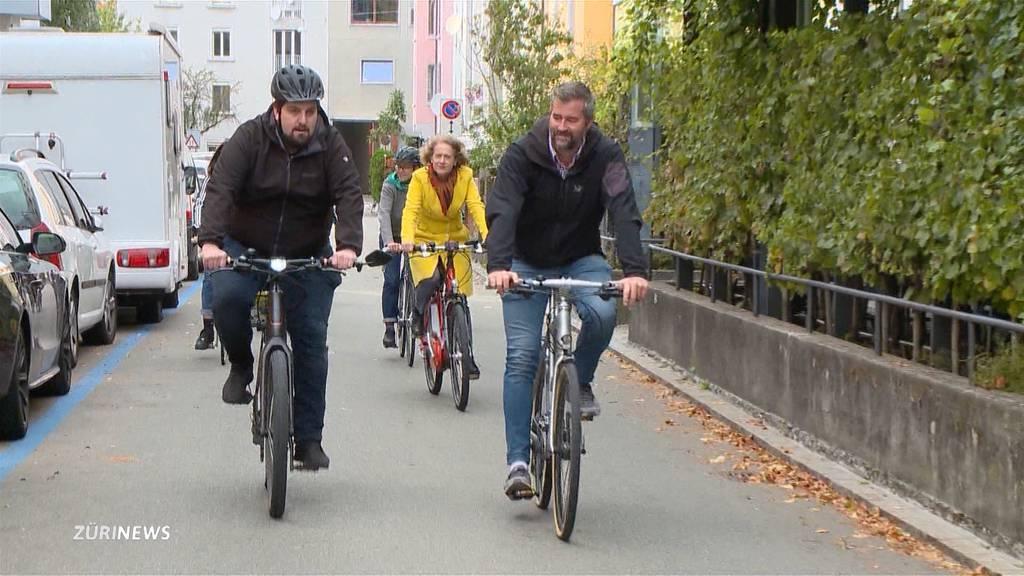 """Stadt Zürich bekommt ein """"Autobahnnetz für Velos"""""""