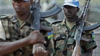 Soldaten der UNAMID-Mission in Darfur (Symbolbild)