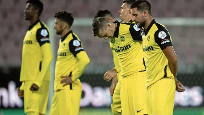 Ernüchterung beim Schweizer Meister: YB hat die Champions League bereits verpasst.