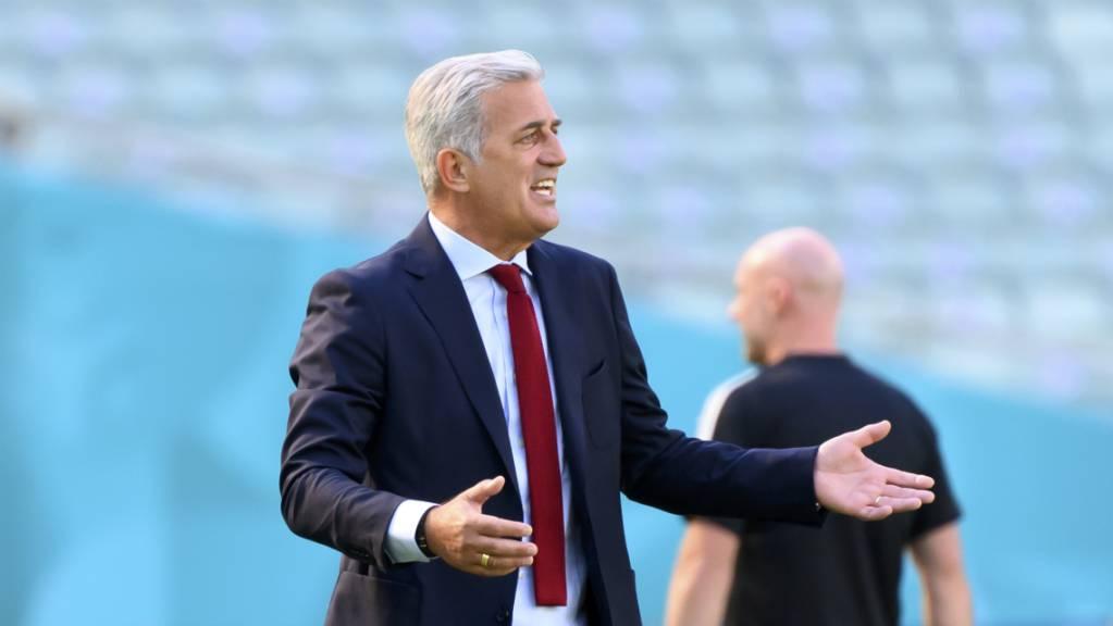 Nationalcoach Vladimir Petkovic vor dem Spiel gegen Favorit Italien: «Müssen über unseren Möglichkeiten sein»