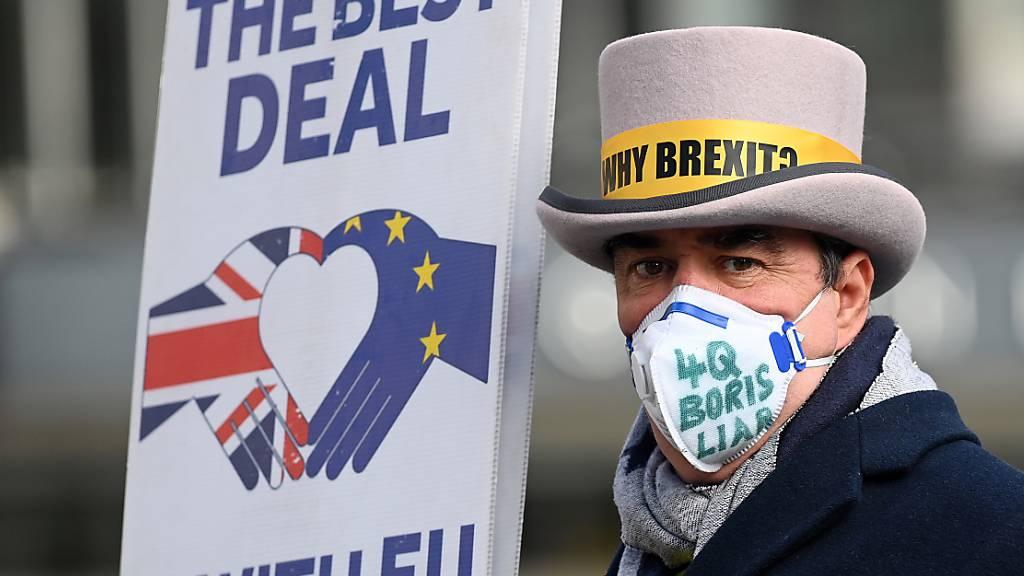 Nach äusserst zähen Verhandlungen ist ein Handelsabkommen zwischen der EU und Grossbritannien zustande gekommen. Das sind auch für die Schweiz gute Nachrichten. (Archiv)
