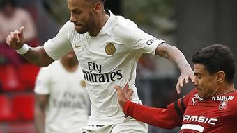 Auch ohne Tor von Neymar: Paris Saint-Germain war durch Rennes nicht zu stoppen