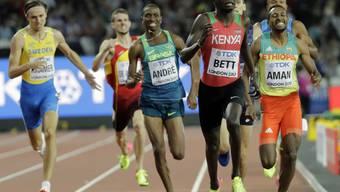 Kenias Kipyegon Bett (vorne) blieb in einer Dopingkontrolle mit EPO-Spuren hängen