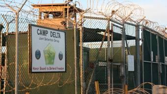 Das umstrittene Gefangenenlager auf Kuba (Archiv)