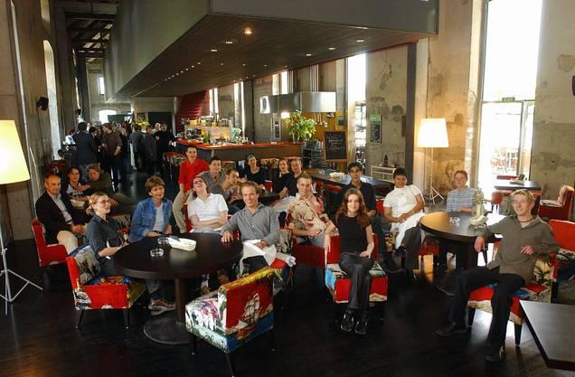 10. Mai 2002: Eröffnungstag mit dem ersten Solheure-Team