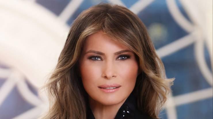 Das ist das erste offizielle Foto der First Lady, das das Weisse Haus herausgegeben hat.