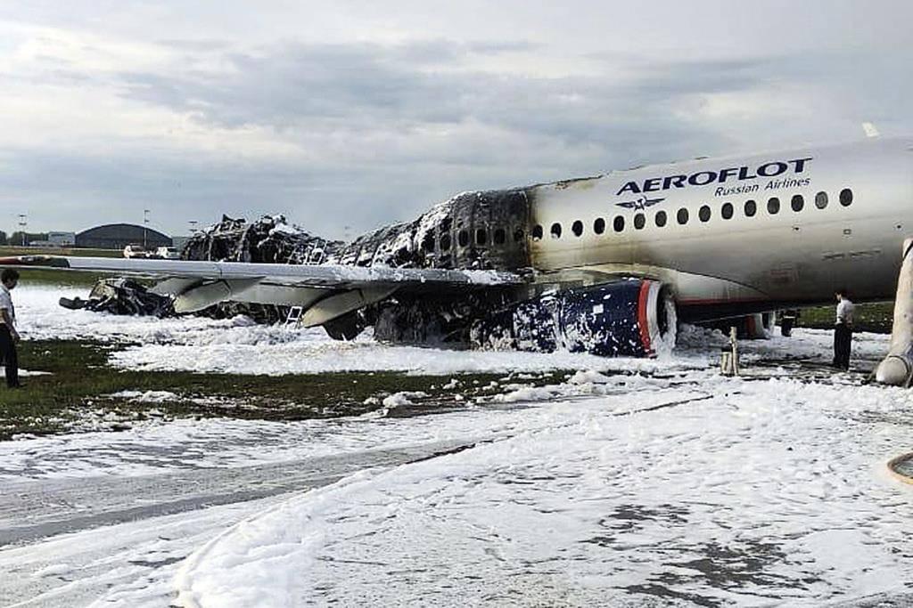 Flugzeugunglück in Moskau
