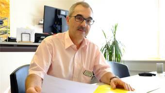 Jakob Faes ist Leiter des Alterszentrums Mittleres Wynental und Spitex-Geschäftsführer. (Archivbild/Rahel Plüss)