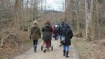 In einigen Bürgergemeinden werden Waldrundgänge angeboten. (Archiv)