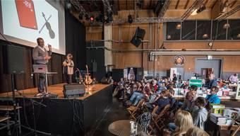 Die Schützi war Hauptort des ersten Buchfestivals, welches vergangenen Oktober durchgeführt wurde.