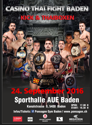 CASINO THAI FIGHT BADEN