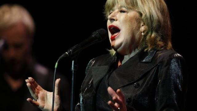 Marianne Faithfull bei einem Konzert in Zürich (Archiv)