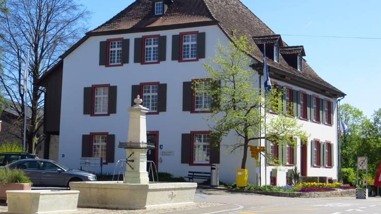 Der Dorfkern von Frenkendorf