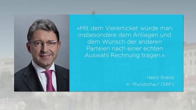 SVP-Sprengkandidat Heinz Brand?