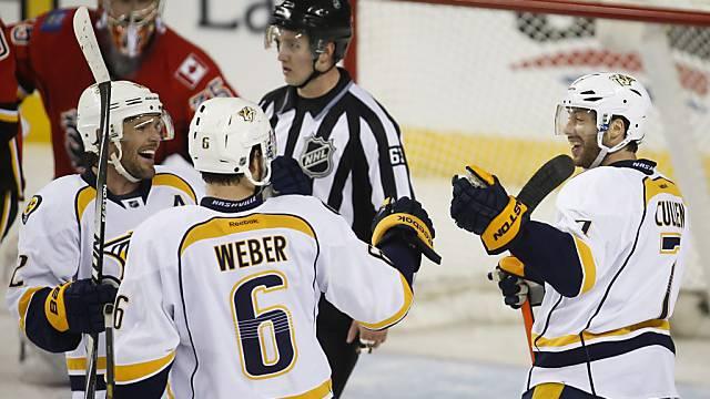 Verteidiger Shea Weber traf in Calgary doppelt