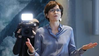 Regula Rytz steht bereit: Jetzt entscheidet die Fraktion, ob sie Bundesratskandidatin wird.
