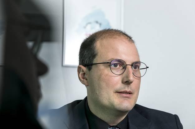 Florian Schütz, Delegierter des Bundes für Cybersicherheit.