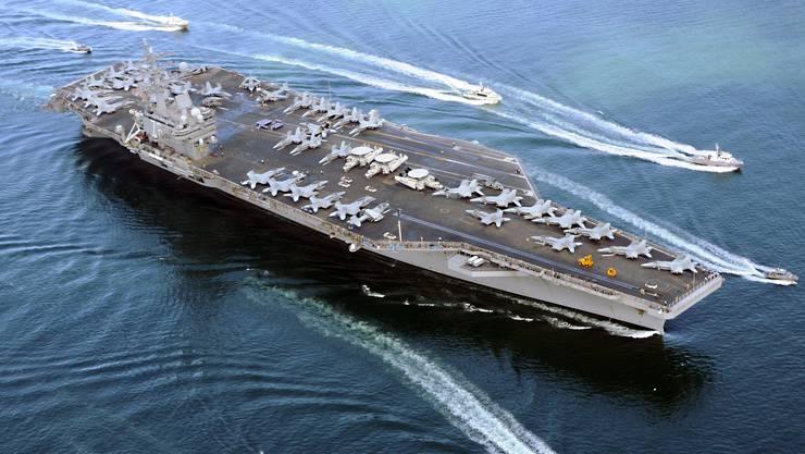 Die USA entsenden einen zweiten Flugzeugträger – die «USS Ronald Reagan» – in die Nähe der koreanischen Halbinsel. (Archivbild)