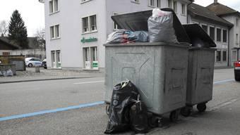 Container erschweren die Kontrolle, ob gebührenpflichtige Säcke verwendet werden. Bei Einzelsäcken ist dies einfacher zu erkennen.