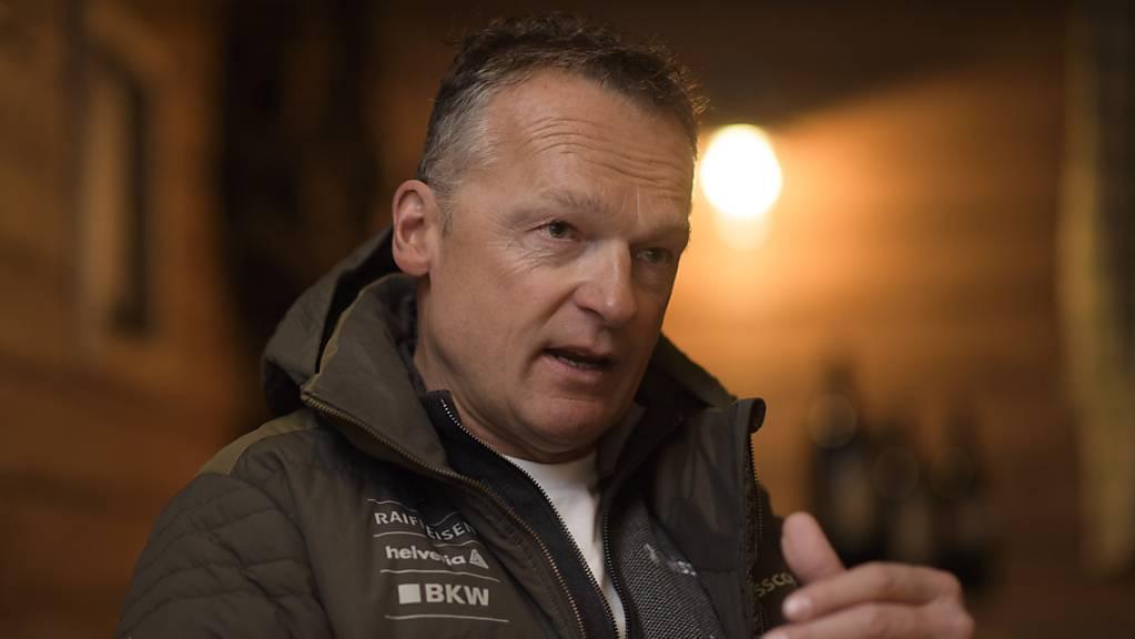 Hans Flatscher als Nachwuchschef Alpin bei Swiss-Ski