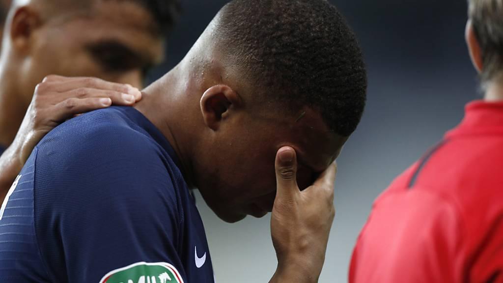 Paris Saint-Germain sorgt sich um Mbappé