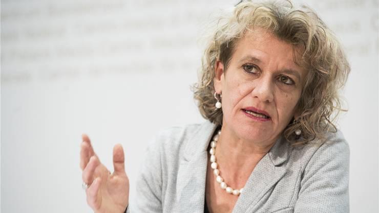 Führt die Nationalratsliste der Zürcher Grünen an: Katharina Prelicz-Huber