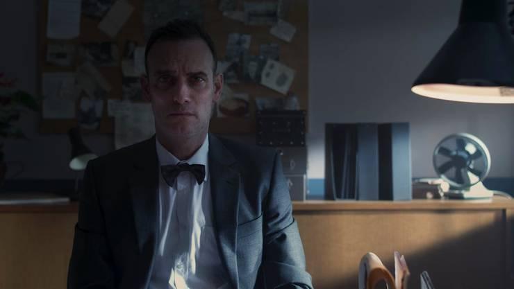 Szene aus «Durchschaut» mit Anatole Taubman des Gerlafinger Regisseurs Frederik Maarsen.
