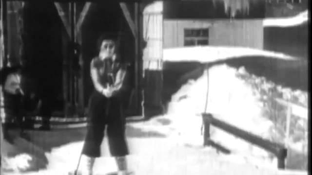 So fieberten Simone Wilds Eltern mit — Er lehrte Trumps Kinder das Skifahren — 1. Skilift in St. Moritz