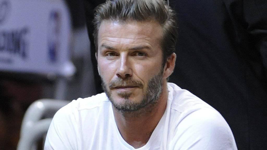 Mag Fussball weniger gern als Rugby: David Beckham