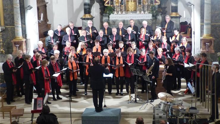 Gemeinsame Projekte – im Bild ein Konzert der Kirchenchöre Frick und Stein – könnten eine Lösung für die Zukunft sein. (Archiv)