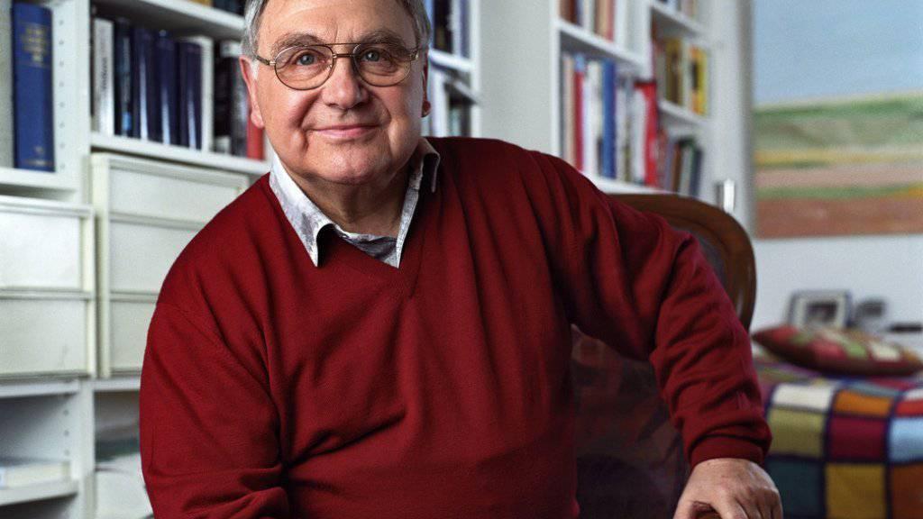 Jörg Schneider erlangte vor allem mit seinen Chasperli-Geschichten Bekanntheit (Archiv).