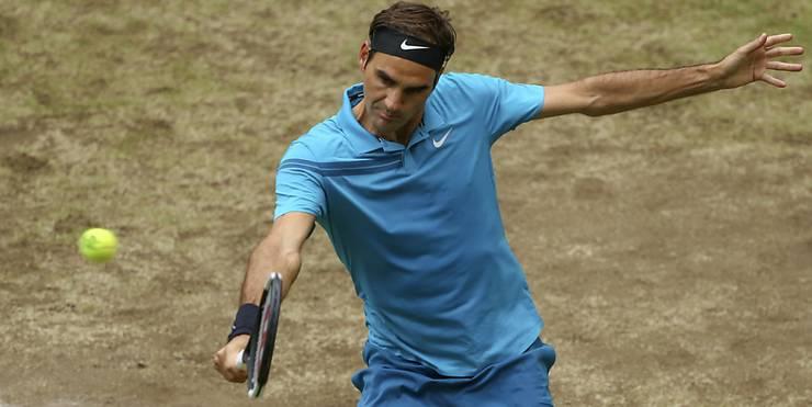 Ist auch aus Sicht der Organisatoren der Favorit in Wimbledon und deshalb als Nummer 1 gesetzt: Roger Federer