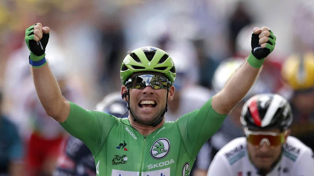 Cavendish sprintet wie zu seinen besten Zeiten