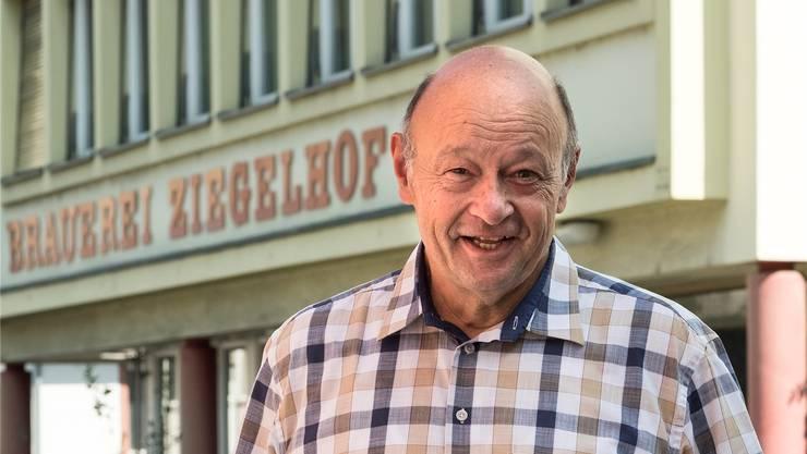 Frühere und vielleicht neue Wirkungsstätte: Theo Schaller könnte mit der Baselbieter Brauerei eines Tages aufs Ziegelhof-Areal in Liestal zurückkehren.