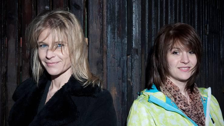 Nicole Müller-Boder (links) setzt im Wahlkampf auf die Angst vor einer Islamisierung der Schweiz – ihre Schwester Fabienne Hassan ist Muslimin.