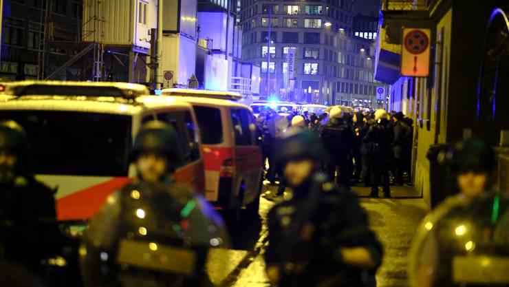 Die Polizei musste am Mittwochabend an die Langstrasse ausrücken.