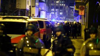 Polizeieinsatz langstrasse demonstration weltfrauentag