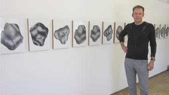 Adrien Jutard in der Galerie Rössli Balsthal.