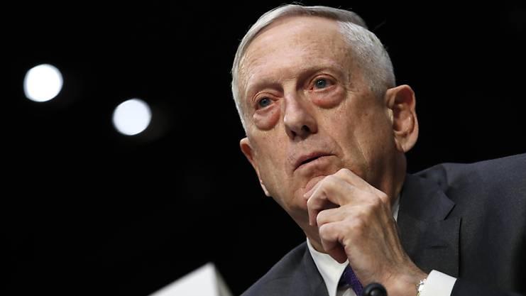 Verteidigungsminister Jim Mattis.